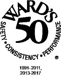 wards 50 award